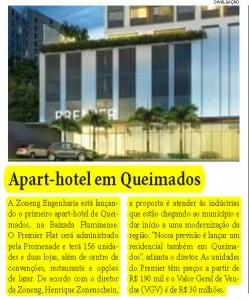 Premier Flat no Jornal Corporativo